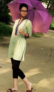 Bangladeshi school girl