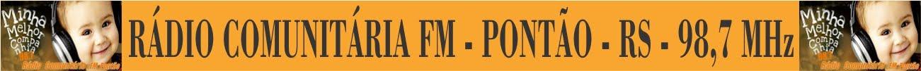 RÁDIO COMUNITÁRIA FM PONTÃO-RS