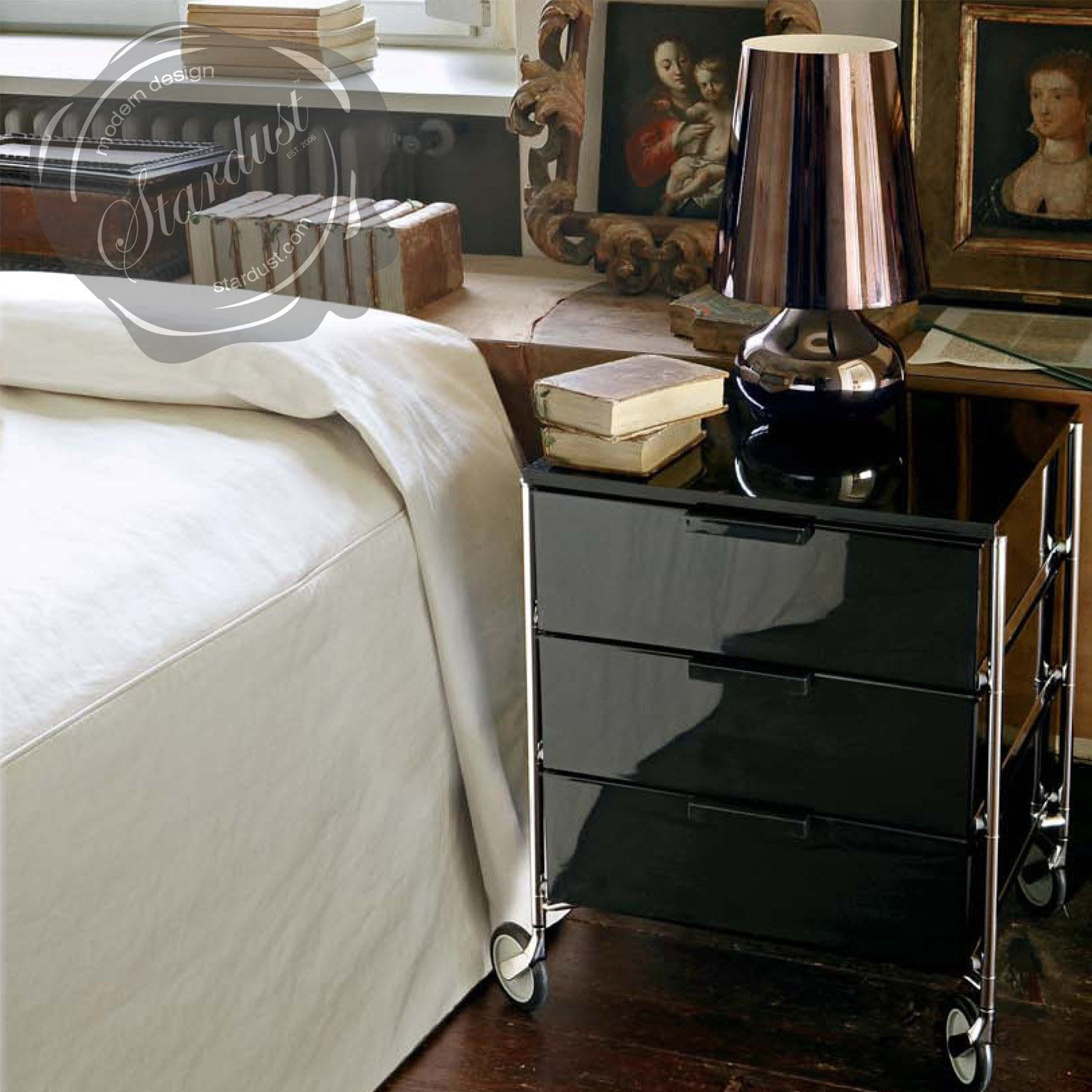 Modern interior design cindy 16 12 h table lamp with empire kartell cindy lamp geotapseo Image collections