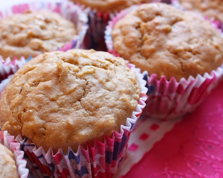 Muffins de Maçã (vegana)
