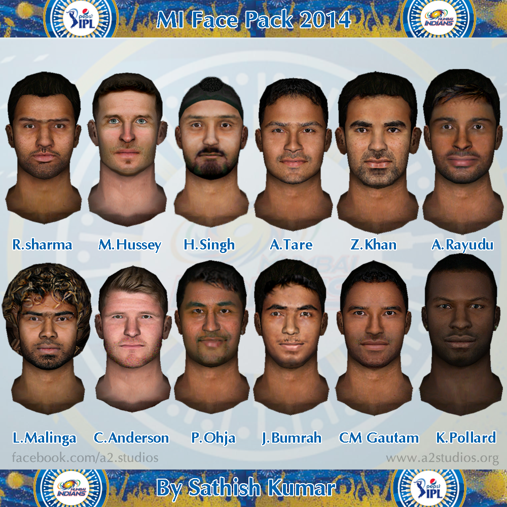 Ntr Ipl Add Download: Pepsi IPL 7 2014 Faces For EA Sports Cricket 07 Download