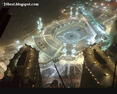 Latest Photo of Mecca and Madina in 2012 and some are thake by me last month.