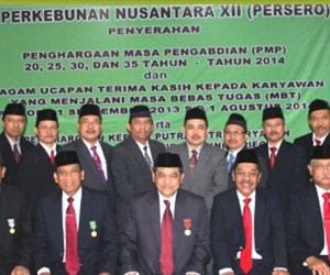 Lowongan Kerja PT Perkebunan Nusantara XII (Persero)