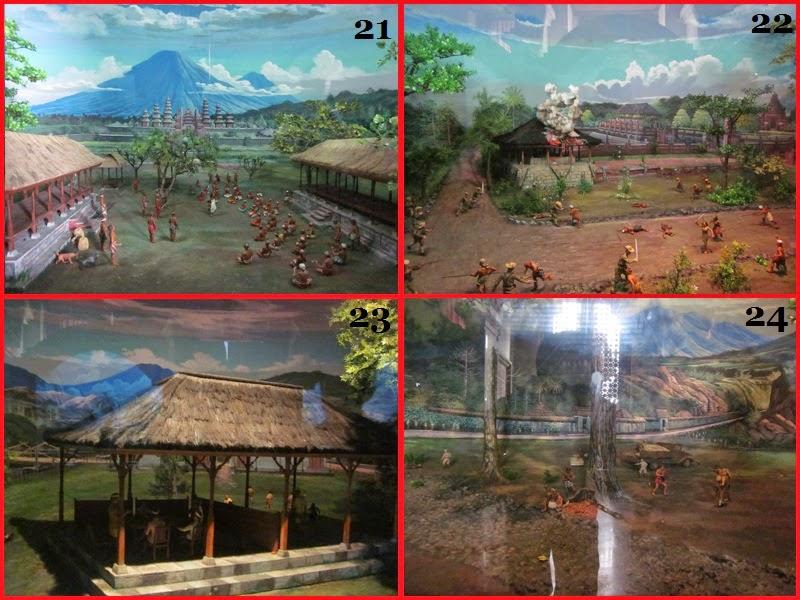 Diorama ke 21-24 Di Museum Bajra Sandi