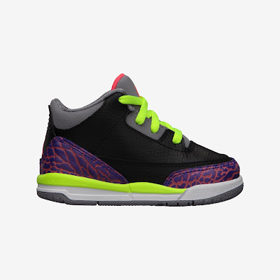 Air Jordan Retro 3 (2c-10c) Toddler Boys' Shoe # 832033-039