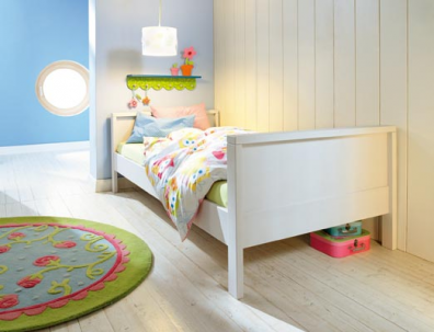 Muebles y decoraci n de interiores lindas camas alemanas - Camas infantiles blancas ...