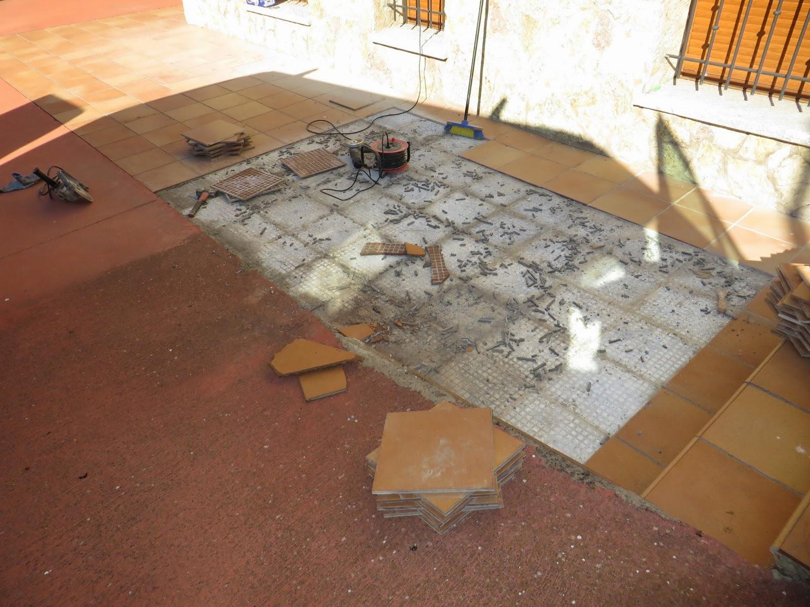 Reformas villasol suelos de gres pavimentos plaquetas terrazas presupuerstos colocaci n en le n - Pavimentos para terrazas ...