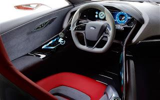 Ford EVOS Concept Cockpit