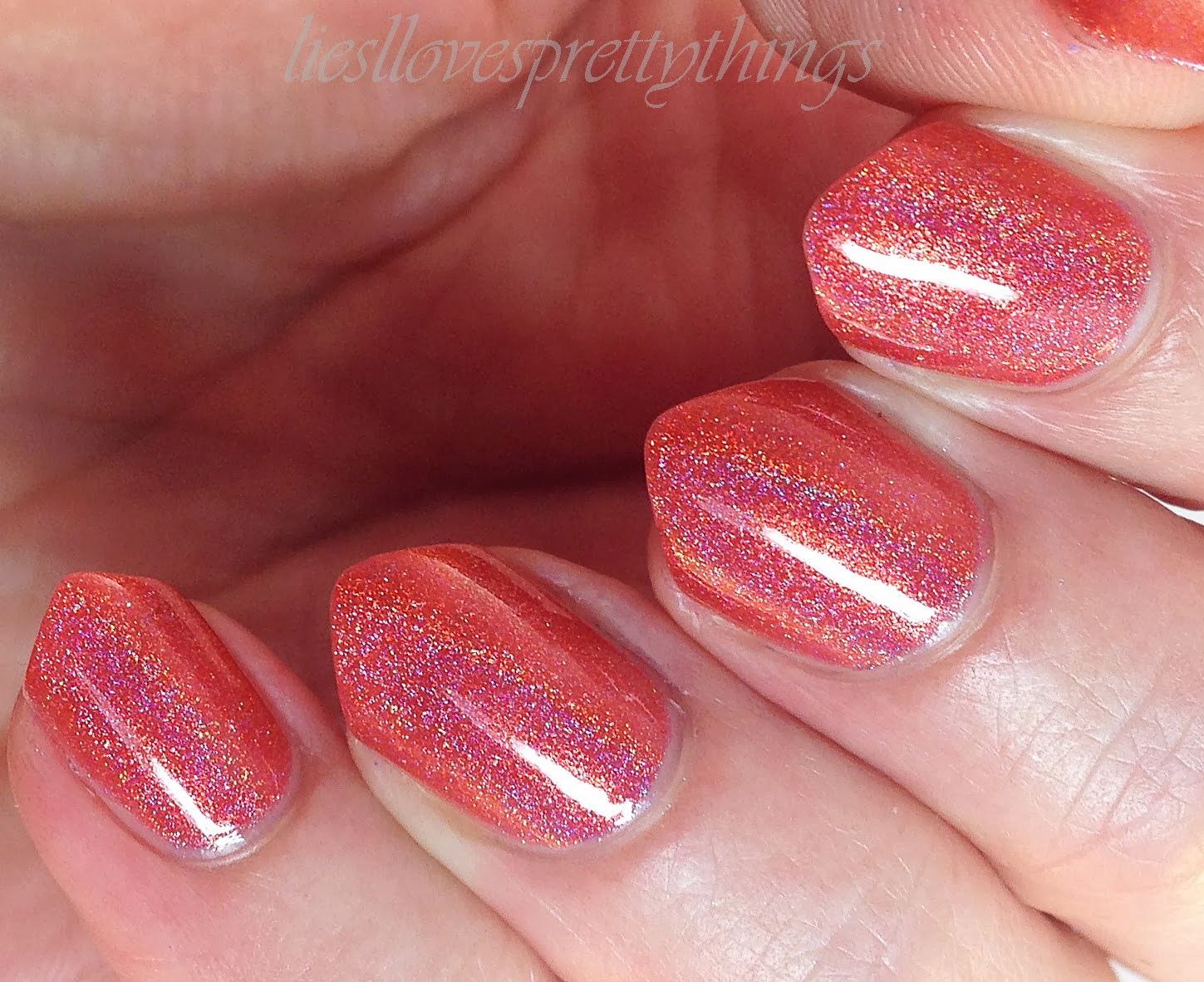 Celestial Cosmetics Sun Kissed swatch and review
