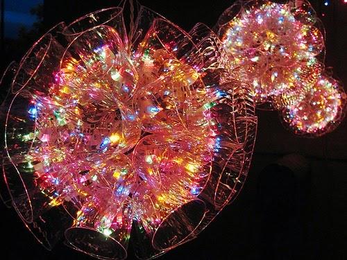 Agenda di margherita come fare delle sfere luminose con i for Sfere con bicchieri di plastica