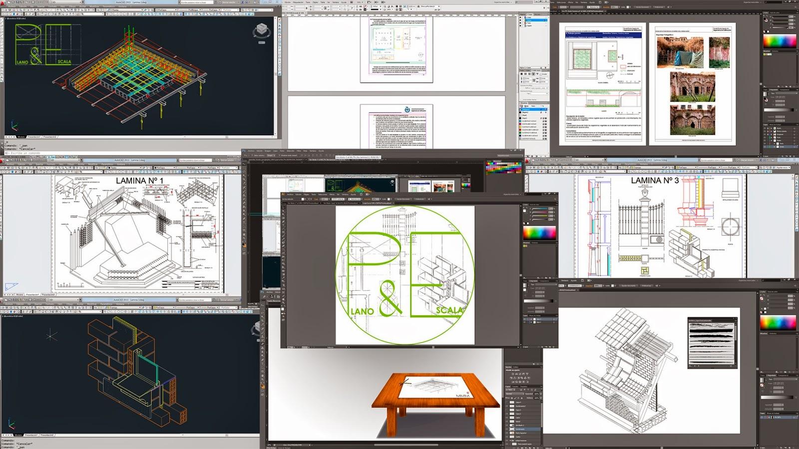 Shearsepein for Programas de arquitectura