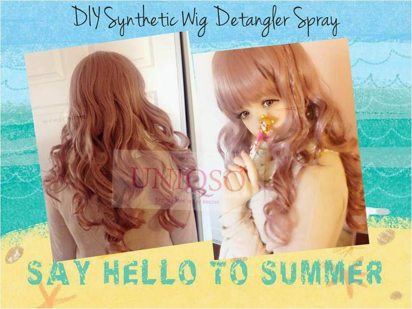DIY Softening Conditioner for Synthetic Hair Wigs: Keep your Wig New for an Year