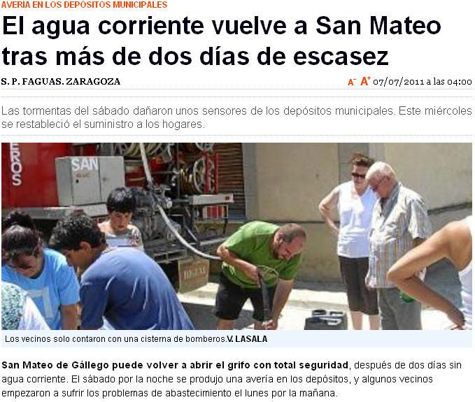 El blog de san mateo de g llego actualizado 19 08 2011 - El tiempo en san mateo de gallego ...