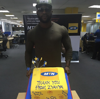 8 Years Still Counting! Iyanya Celebrates Relationship With MTN | PHOTOS