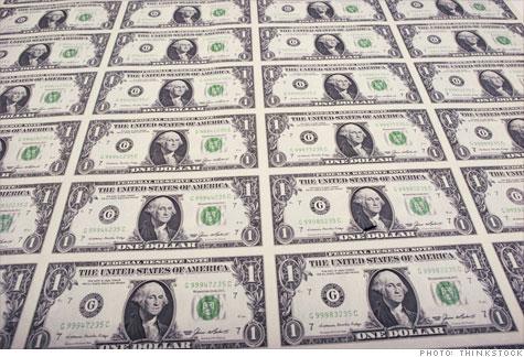 Sabías que los billetes de dólar están hechos de algodón?