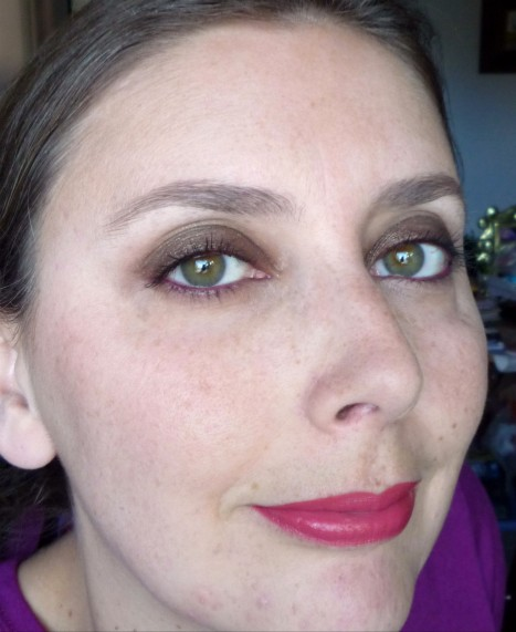 Wearing Kiko makeup products from Midnight Siren and Rebel Romantic collections: fotd, motd, eotd