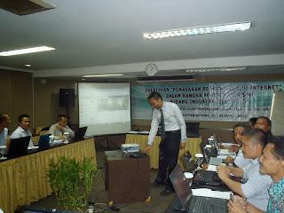 Pelatihan Internet Marketing dan SEO Jakarta Deperindag 2013