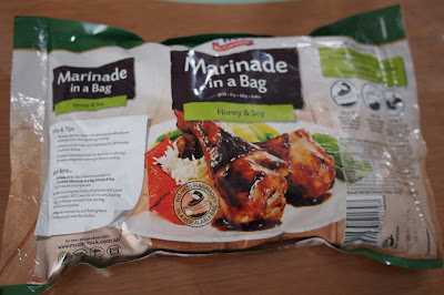 Honey and Soy - McCormick's Marinade in a bag