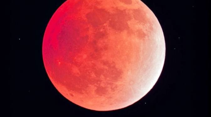 Fenomena Blood Moon Bulan Merah Darah Pertanda Bencana