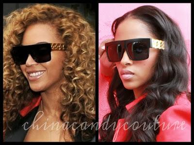 Nicki Minaj Wears See Through Tights On the left beyonce is wearing