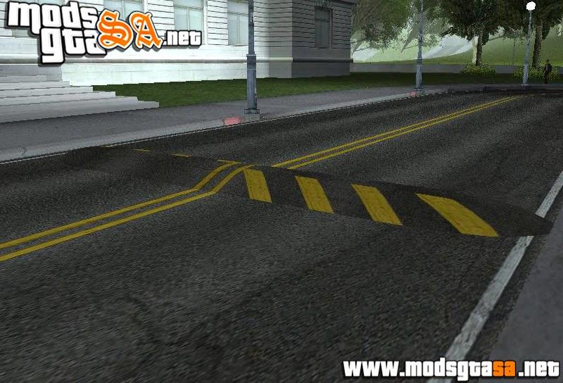 SA - Mod Lombadas por toda San Andreas