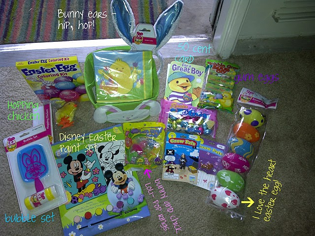 The bargain blonde my top ten dollar store deals and duds goodies from the dollar tree i used to make my nephews easter basket read deets here negle Choice Image