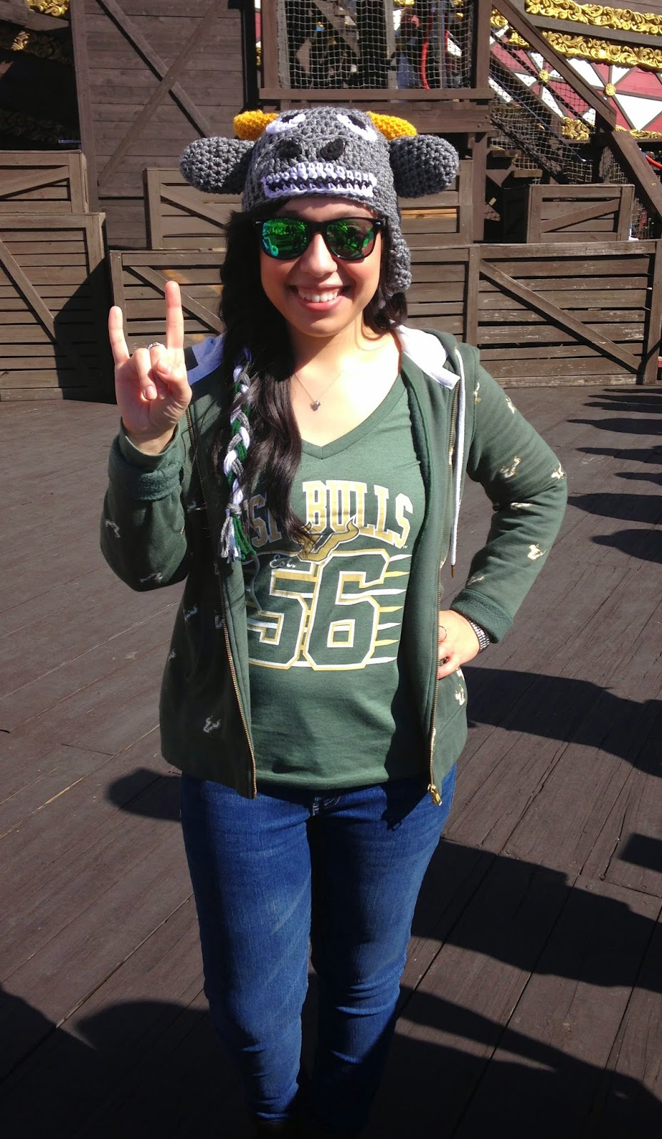 USF Bulls fan fashion