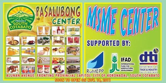 pasalubong center to open soon alunan avenue i love south