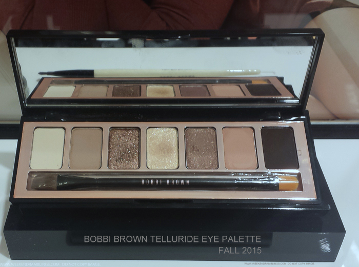 Bobbi Brown Telluride Eyeshadow Palette Fall 2015 Makeup Collection Swatches