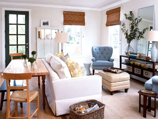 The pear tree cottage cottage style living areas for Small front room ideas