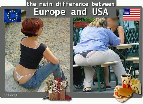 America Girl Vs Europe Girl