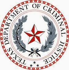 Logo of Texas Department of Criminal Justice
