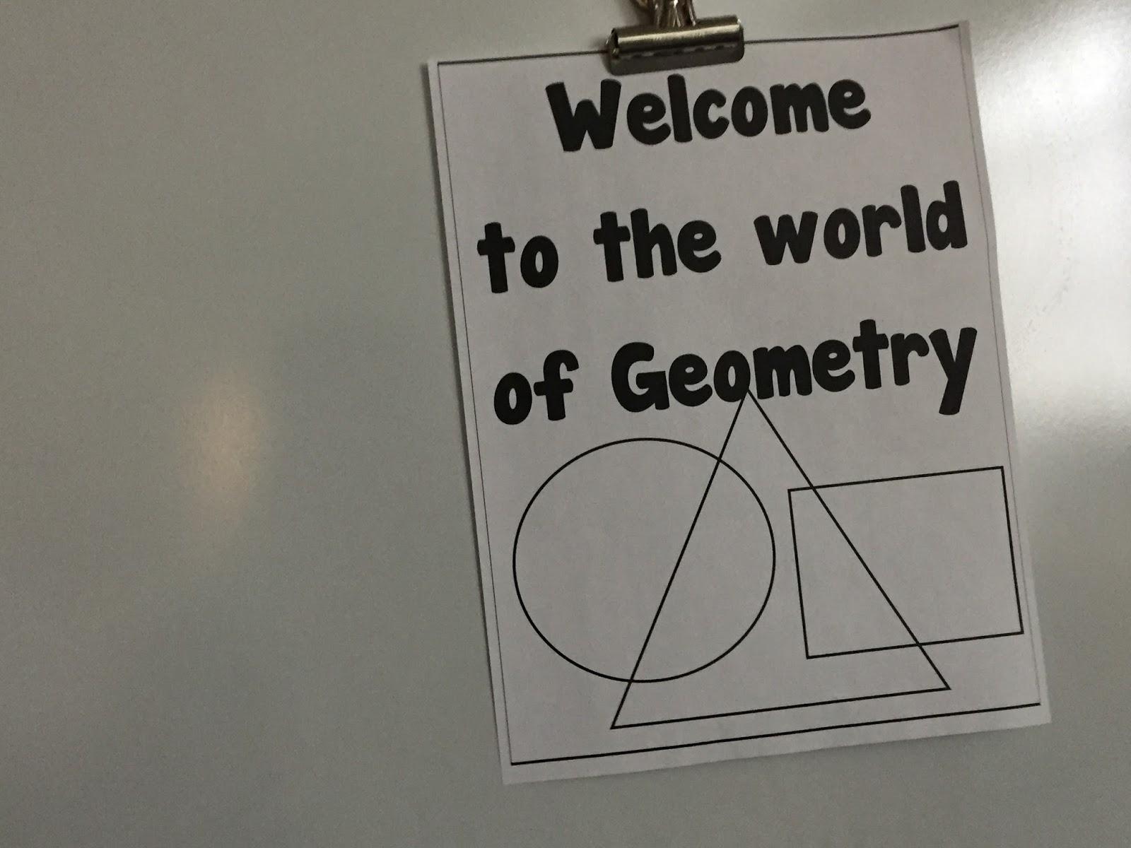 January STEM Challenge 4th Grade- Breakout EDU Geometry Review