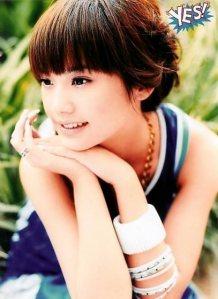 Album 1st : My Intuition  U003e Ai Mei 2nd Meeting Love  U003e Yu Shang Ai 3rd My  Other Self  U003e Ren Yi Men 4th Not Yet A Woman  U003e Ban Shu Xuan Yan