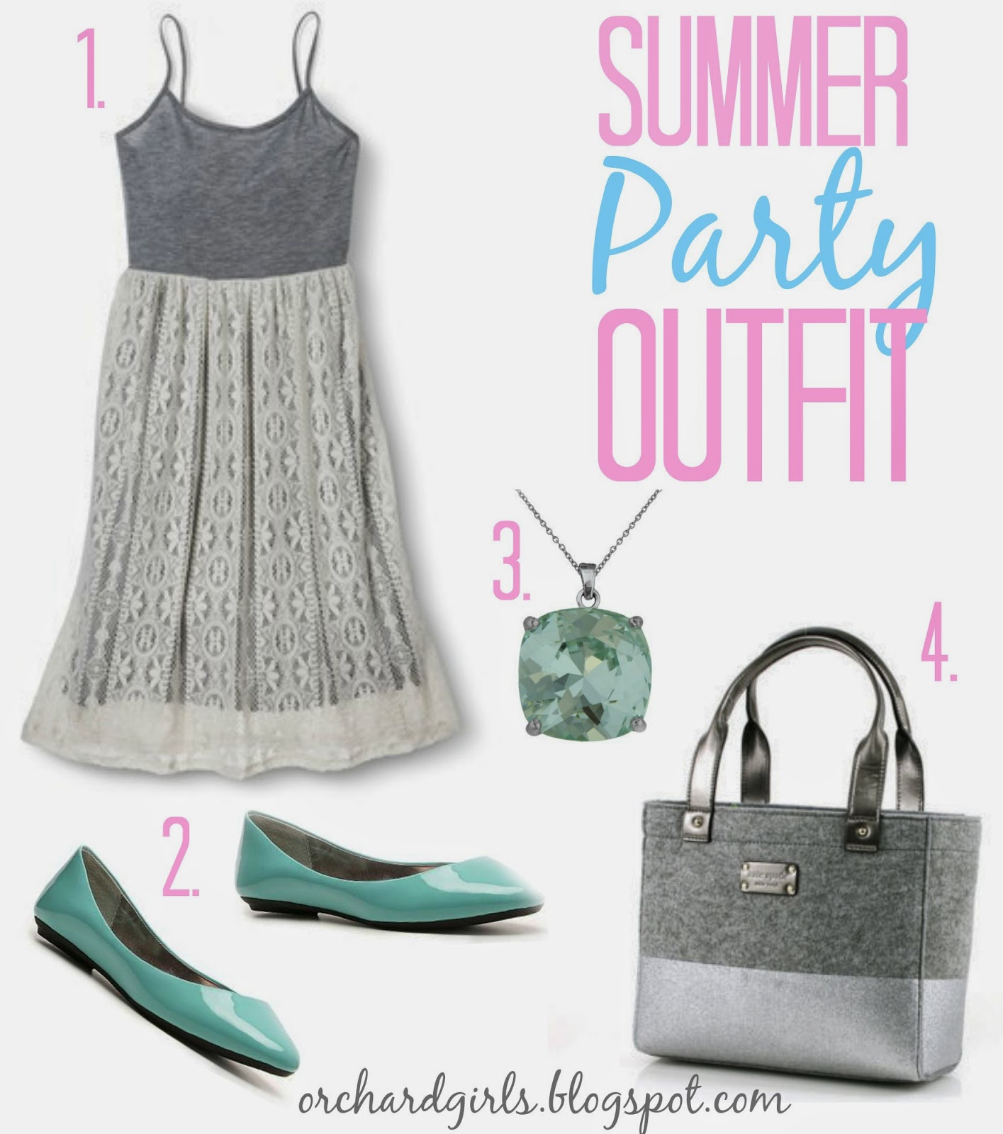 Summer Party Outfit by Orchard Girls #summer #party #inspiration