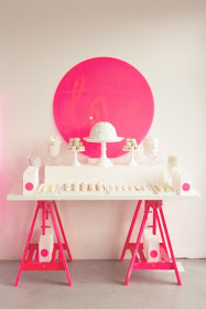 Elements of design rhythm white pink