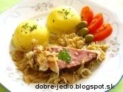 Údené bravčové mäso v kapuste - recept