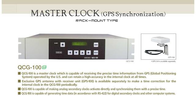 SEIKO Master Clock QCG-100