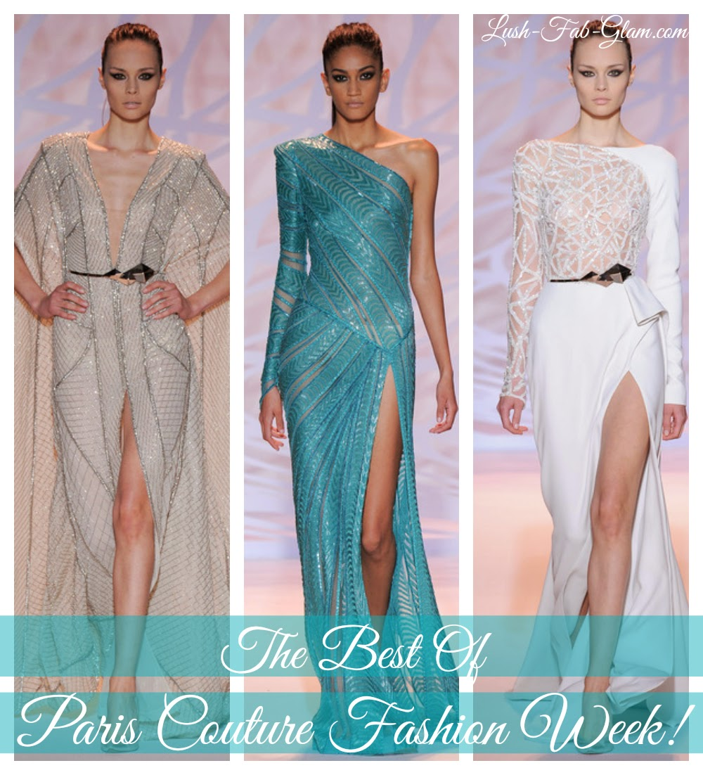 See the gorgeous designs and dresses from Paris Couture Fashion Week!