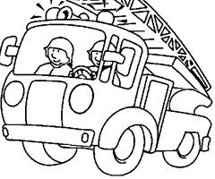 Ecole saint laurent de barjac visite de la caserne des - Dessin a imprimer camion de pompier ...