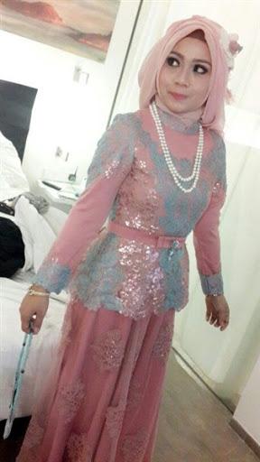 21 Model Kebaya Muslim Modern Pesta Terbaru