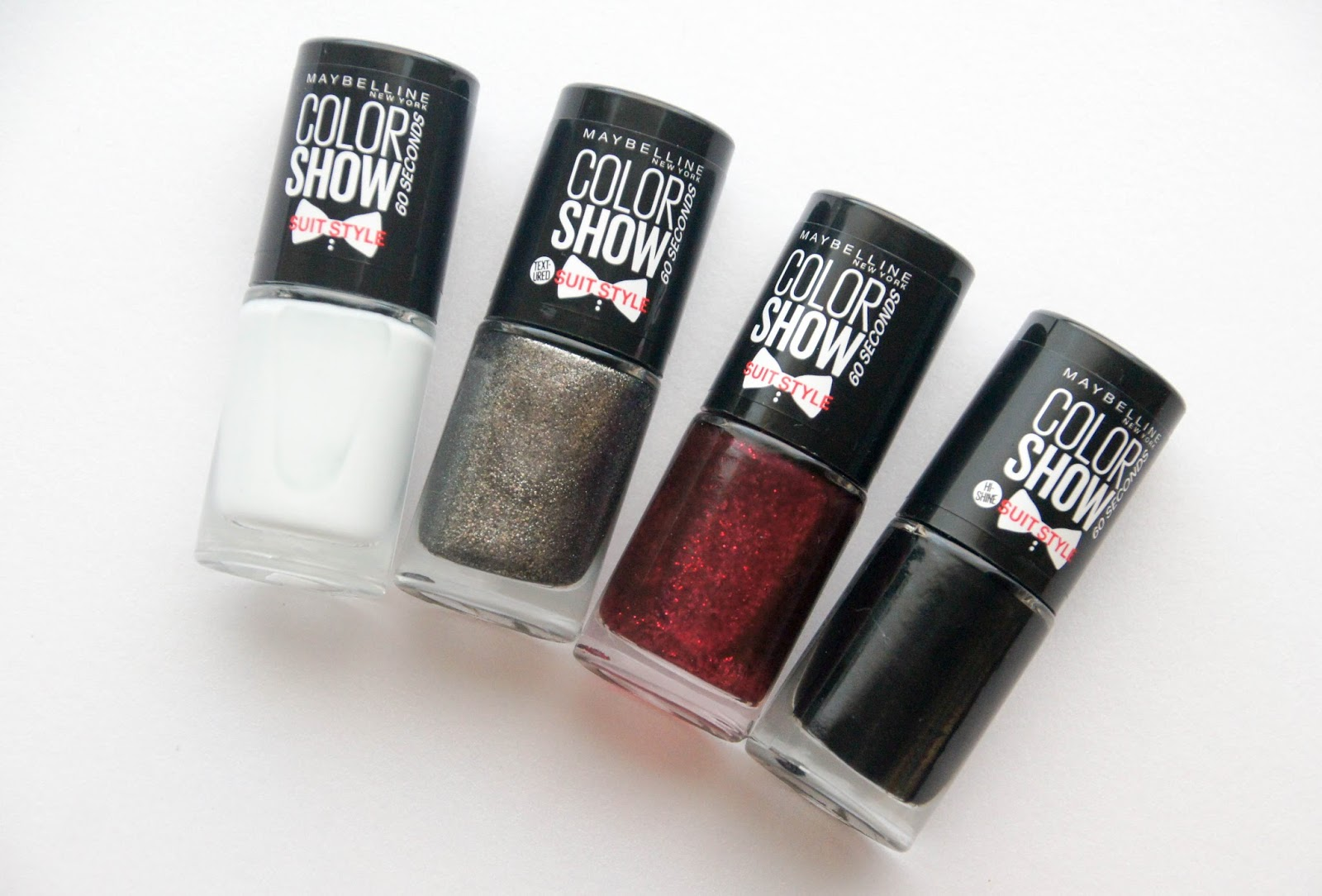 Maybelline Color Show Suit Style nail polishes | Wrinkles And Heels