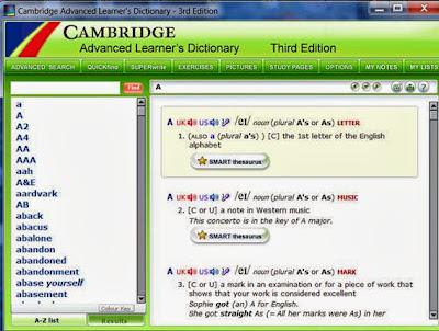 Kamus bahasa Inggris for PC