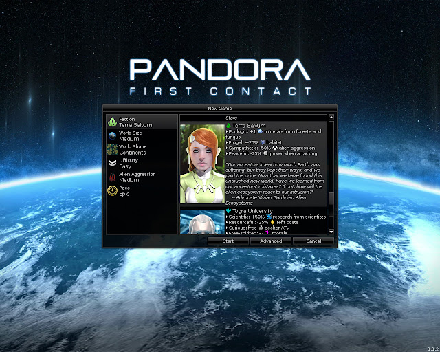 Pandora: First Contact - Screenshot