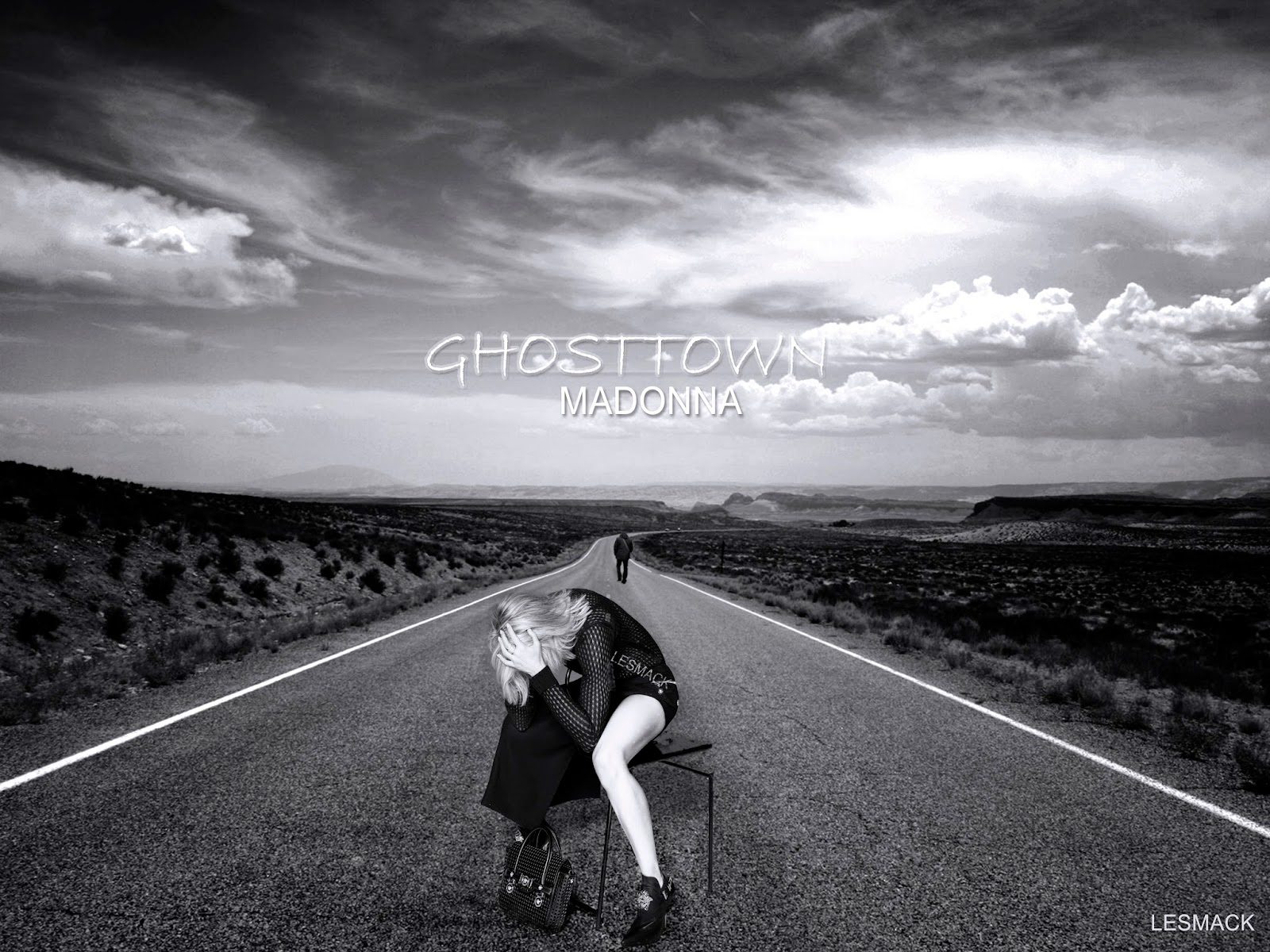 madonna fanmade covers: ghosttown - wallpaper