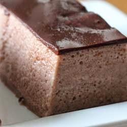 Resep Puding Busa Coklat