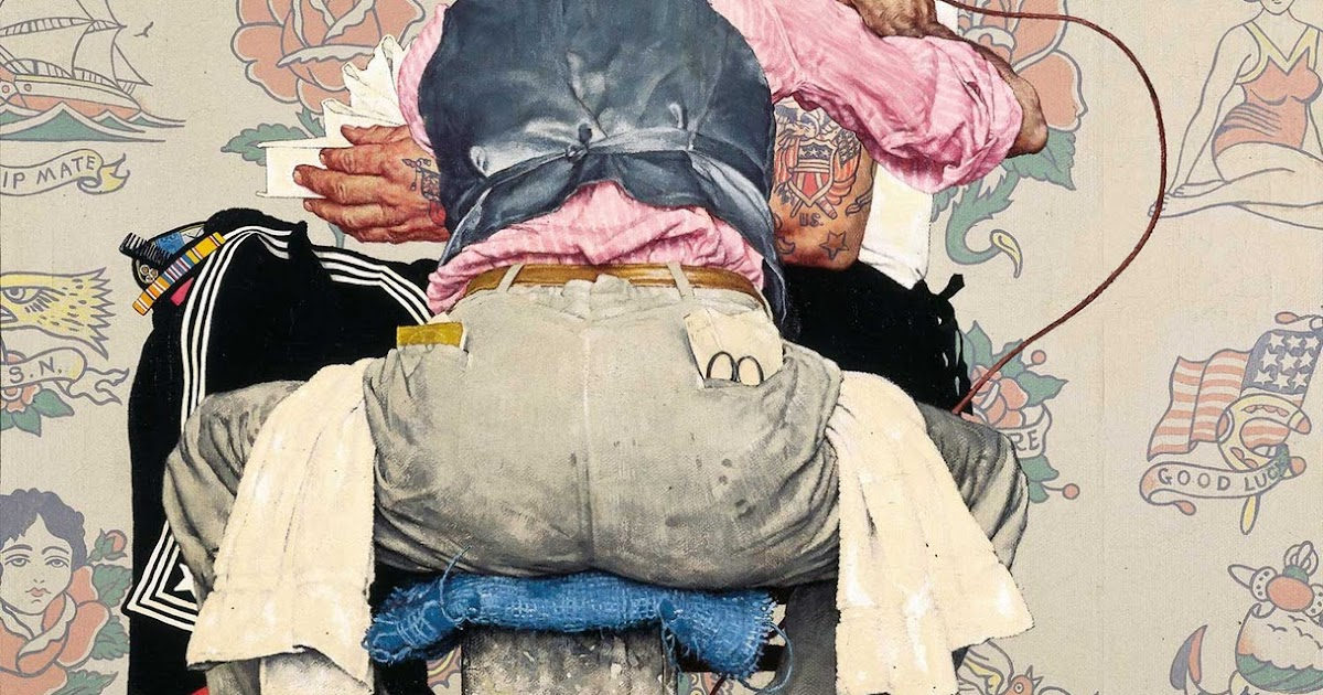 Eclectic suitcase norman rockwell tattoo artist for Norman rockwell tattoo