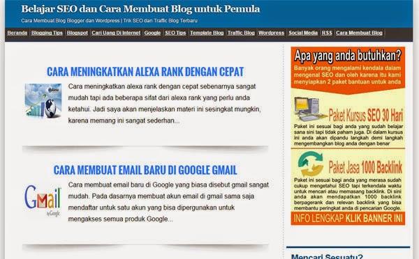 Situs Blogger Terpopuler di Indonesia