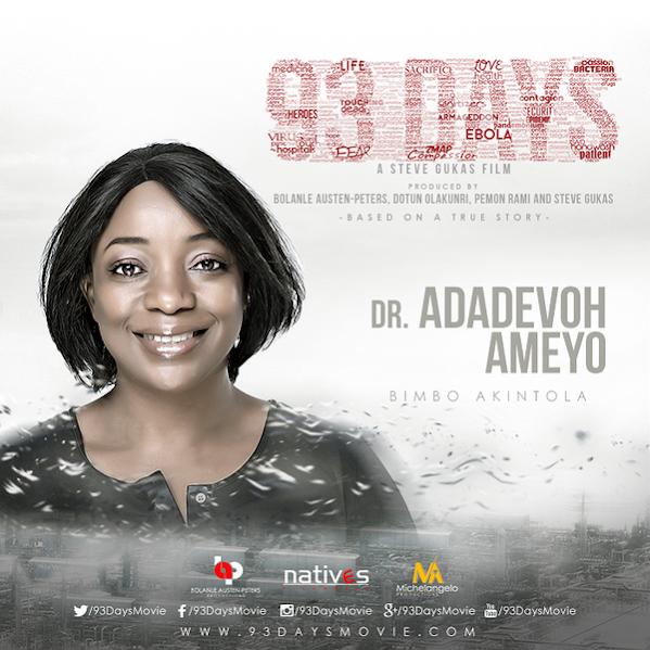 Bimbo Akintola plays Dr Stella Adedavoh, Keppy Ekpeyong; Patrick Sawyer. Meet the cast of the Ebola