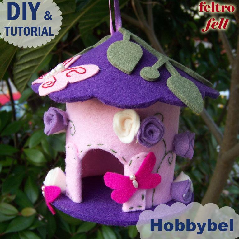 Hobbybel creativit casetta uccellini prima parte - Casette per uccellini da costruire ...